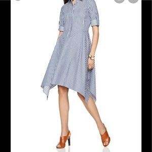 BCBGMaxazria Beatryce striped dress